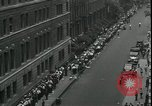 Image of unemployed men seek WPA relief jobs New York City USA, 1935, second 10 stock footage video 65675076839
