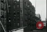 Image of new housing project New York City USA, 1935, second 8 stock footage video 65675076842