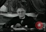Image of Franklin Delano Roosevelt speech after reelection United States USA, 1936, second 2 stock footage video 65675076844