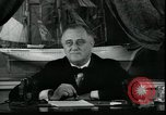 Image of Franklin Delano Roosevelt speech after reelection United States USA, 1936, second 3 stock footage video 65675076844