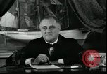 Image of Franklin Delano Roosevelt speech after reelection United States USA, 1936, second 4 stock footage video 65675076844