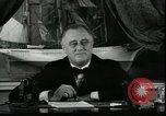 Image of Franklin Delano Roosevelt speech after reelection United States USA, 1936, second 5 stock footage video 65675076844