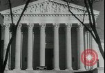 Image of Supreme Court in Schecters poultry regulation case Washington DC USA, 1935, second 6 stock footage video 65675076847
