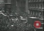 Image of Market panic crowd in front of New York Stock Exchange New York City USA, 1929, second 8 stock footage video 65675076849