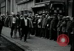 Image of unemployed apply for jobs in Great Depression New York City USA, 1930, second 6 stock footage video 65675076850