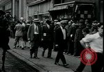 Image of unemployed apply for jobs in Great Depression New York City USA, 1930, second 7 stock footage video 65675076850