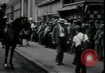 Image of unemployed apply for jobs in Great Depression New York City USA, 1930, second 8 stock footage video 65675076850