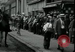 Image of unemployed apply for jobs in Great Depression New York City USA, 1930, second 9 stock footage video 65675076850