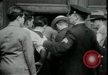 Image of unemployed apply for jobs in Great Depression New York City USA, 1930, second 10 stock footage video 65675076850