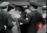 Image of unemployed apply for jobs in Great Depression New York City USA, 1930, second 11 stock footage video 65675076850