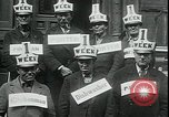 Image of unemployed in Great Depression seeking work New York City USA, 1930, second 6 stock footage video 65675076851
