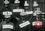 Image of unemployed in Great Depression seeking work New York City USA, 1930, second 7 stock footage video 65675076851