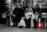 Image of American barber accepts vegetable barter for haircuts Sparta Michigan USA, 1930, second 9 stock footage video 65675076852
