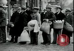Image of American barber accepts vegetable barter for haircuts Sparta Michigan USA, 1930, second 11 stock footage video 65675076852