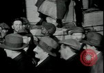 Image of unemployed receive apples during great depression New York City USA, 1930, second 5 stock footage video 65675076853