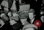 Image of unemployed receive apples during great depression New York City USA, 1930, second 7 stock footage video 65675076853