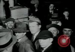 Image of unemployed receive apples during great depression New York City USA, 1930, second 8 stock footage video 65675076853