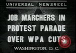Image of American people Washington DC USA, 1937, second 1 stock footage video 65675076856