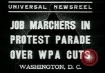 Image of American people Washington DC USA, 1937, second 2 stock footage video 65675076856