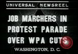 Image of American people Washington DC USA, 1937, second 5 stock footage video 65675076856