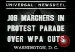 Image of American people Washington DC USA, 1937, second 6 stock footage video 65675076856