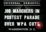 Image of American people Washington DC USA, 1937, second 7 stock footage video 65675076856