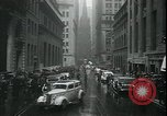 Image of 1937 selloff on stock exchange New York City USA, 1937, second 8 stock footage video 65675076857