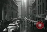 Image of 1937 selloff on stock exchange New York City USA, 1937, second 10 stock footage video 65675076857