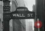 Image of 1937 selloff on stock exchange New York City USA, 1937, second 11 stock footage video 65675076857