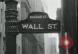 Image of 1937 selloff on stock exchange New York City USA, 1937, second 12 stock footage video 65675076857
