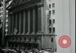 Image of William Martin President of New York Stock Exchange New York City USA, 1938, second 9 stock footage video 65675076858
