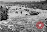 Image of Great Falls area of Potomac River Great Falls Virginia USA, 1919, second 2 stock footage video 65675076865