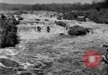 Image of Great Falls area of Potomac River Great Falls Virginia USA, 1919, second 3 stock footage video 65675076865