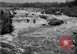 Image of Great Falls area of Potomac River Great Falls Virginia USA, 1919, second 4 stock footage video 65675076865