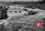 Image of Great Falls area of Potomac River Great Falls Virginia USA, 1919, second 6 stock footage video 65675076865