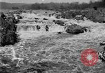 Image of Great Falls area of Potomac River Great Falls Virginia USA, 1919, second 8 stock footage video 65675076865