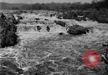 Image of Great Falls area of Potomac River Great Falls Virginia USA, 1919, second 10 stock footage video 65675076865