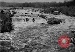 Image of Great Falls area of Potomac River Great Falls Virginia USA, 1919, second 11 stock footage video 65675076865