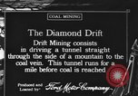 Image of coal mining United States USA, 1916, second 1 stock footage video 65675076886