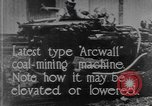 Image of coal mining machine United States USA, 1919, second 1 stock footage video 65675076894