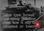 Image of coal mining machine United States USA, 1919, second 2 stock footage video 65675076894