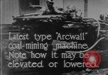 Image of coal mining machine United States USA, 1919, second 3 stock footage video 65675076894