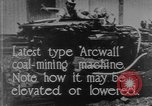 Image of coal mining machine United States USA, 1919, second 5 stock footage video 65675076894