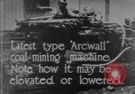 Image of coal mining machine United States USA, 1919, second 6 stock footage video 65675076894