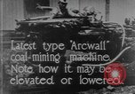 Image of coal mining machine United States USA, 1919, second 7 stock footage video 65675076894
