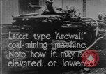 Image of coal mining machine United States USA, 1919, second 8 stock footage video 65675076894