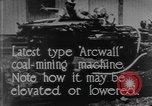 Image of coal mining machine United States USA, 1919, second 9 stock footage video 65675076894