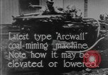 Image of coal mining machine United States USA, 1919, second 10 stock footage video 65675076894