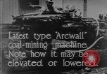 Image of coal mining machine United States USA, 1919, second 11 stock footage video 65675076894