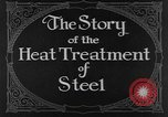 Image of heat treatment of steel United States USA, 1924, second 6 stock footage video 65675076898